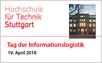 Day of Informationslogistics 2019 at the  HFT Stuttgart