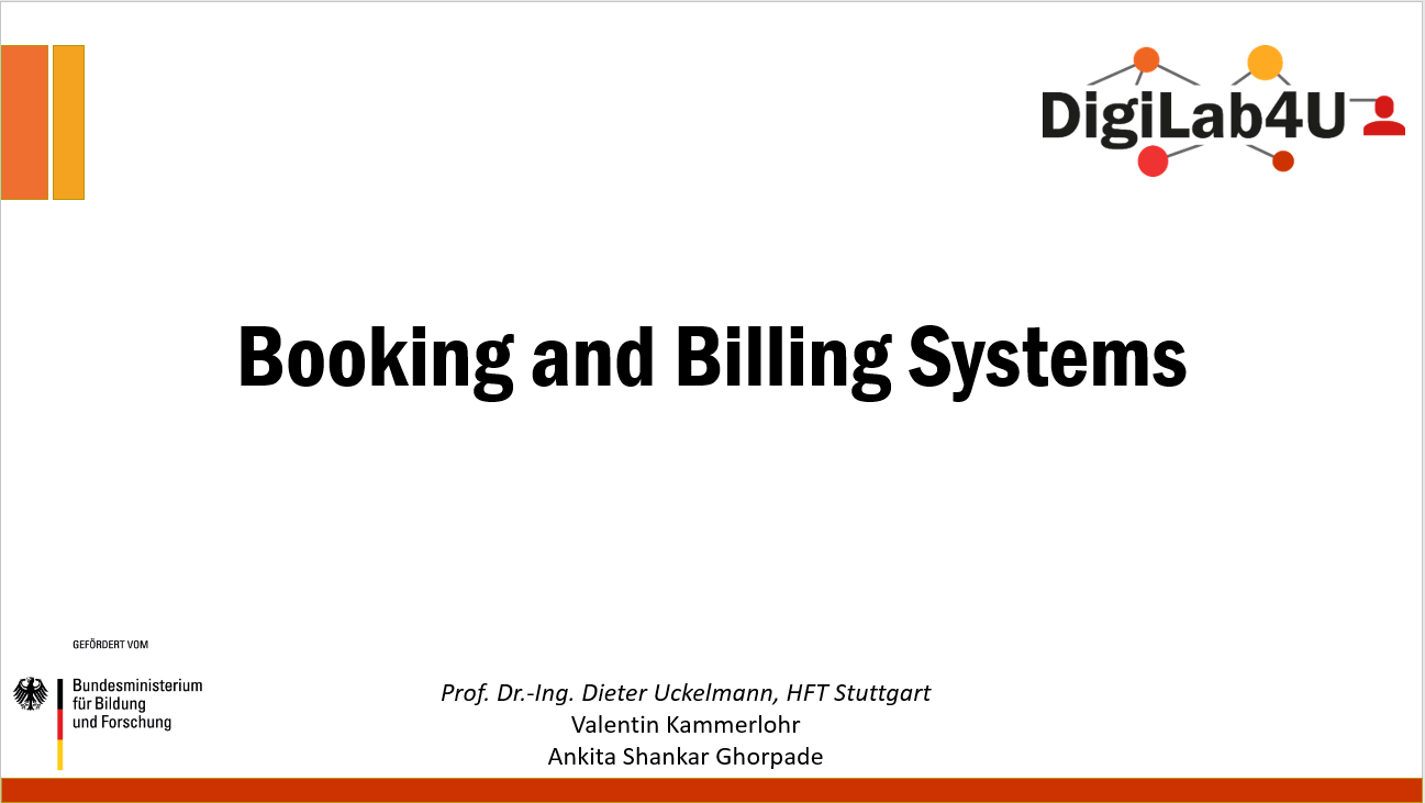 Requirement Analysis of Booking and Billing Systems